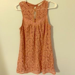 Speechless medium sleeveless mauve dress